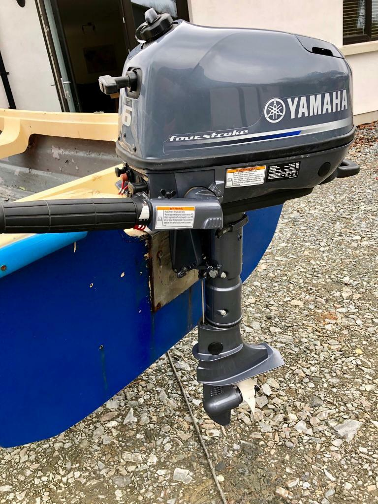 2017 Yamaha 6hp 4 stroke outboard   in Londonderry, County Londonderry    Gumtree