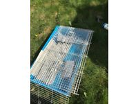 Two rabbit cages used for 2 weeks only