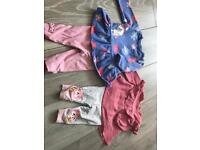 TU girls 0-3 month outfits
