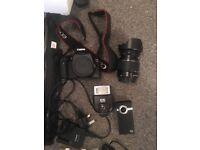 Canon eos 550d and photshoot joblot