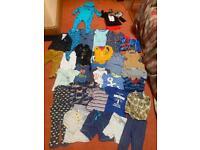 Boy clothes bundle & swim vest 12 - 18 months