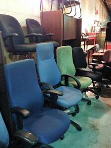 Fauteuil ou chaise de bureau - Très grand choix - Usagé ou neuf