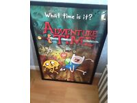 Adventure Time framed maxi poster