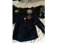 Golf Bag, Galvin green jacket, Titliest Pro v balls and golf gloves