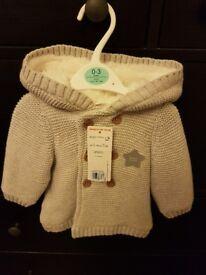 Baby Boy Coat NEW