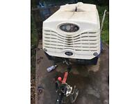 Sullair Twin Tool Diesel Compressor 2012