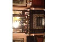 Ornate original over mantal and fire place will sell separate if wanted
