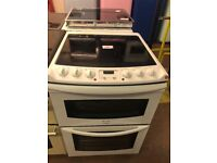 60CM WHITE TRICITY BENDIX ELECTRIC COOKER