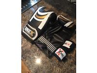 One X Boxing Gloves & Hand Wraps NEVER USED