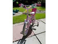"12"" cupcake girls bike"