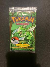 WOTC sealed 1st edition jungle booster pack