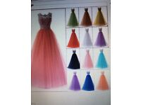 Long Lace Evening Formal Party Ball Gown Prom Bridesmaid Dress
