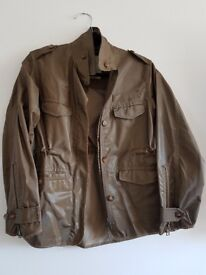 All Saints Ladies Khaki Green Jacket size 10