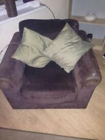 2 seater and a chair still for sale