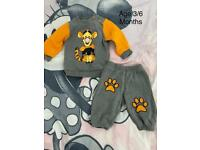 Tigger baby tracksuit