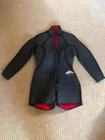 Ladies short wetsuit