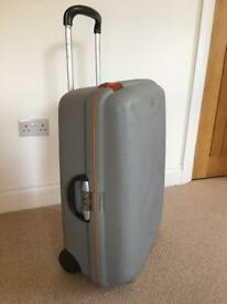 Samsonite large hard shell suitcase
