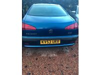 BREAKING PEUGEOT 607 2.2HDI AUTOMATIC ALLOY WHEELS GOOD TYRES