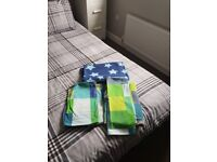 Next single bedding pixel design x2 and sheet