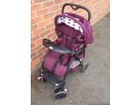 BABY PUSHCHAIR, GOOD CONDITION.