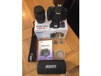 Canon 550D MINT CONDITION SLR 18mega Pixel Camera Boxed Like New With Extras (SOLD)