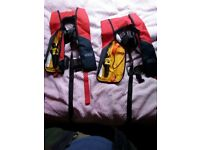 Child seago lifejacket. Good condition, chest size 46-86cm, for child of weight 20-50 kg.