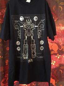 Brand new power rangers t-shirt XL