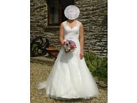 ivory wedding dress (by Ladybird)