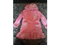 Girls princess dressing gown