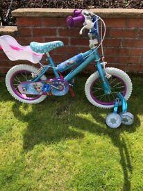 """14"""" Disney Frozen Kids Bike"""