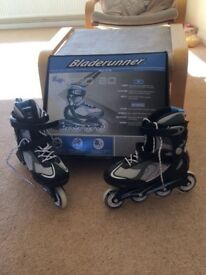 Blade Runner pro 80 size 5 in-line skates never used