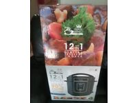 PRESSURE KING PRO 12 IN 1 DIGITAL PRESSURE COOKER