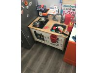 Children's play kitchen - IKEA with over £50 of accessories