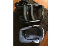 Stokke Scoot pushchair with added extras