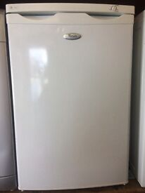 WHIRLPOOL UNDERCOUNTER FREEZER 55cm WIDE FREE DELIVERY AND WARRANTY