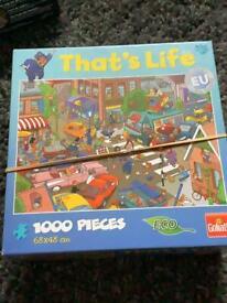 2x 1000 comic jigsaw puzzles