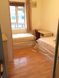 Cosy Share room available now, 5min walk to Fulham Broadway station, for a gentlemn
