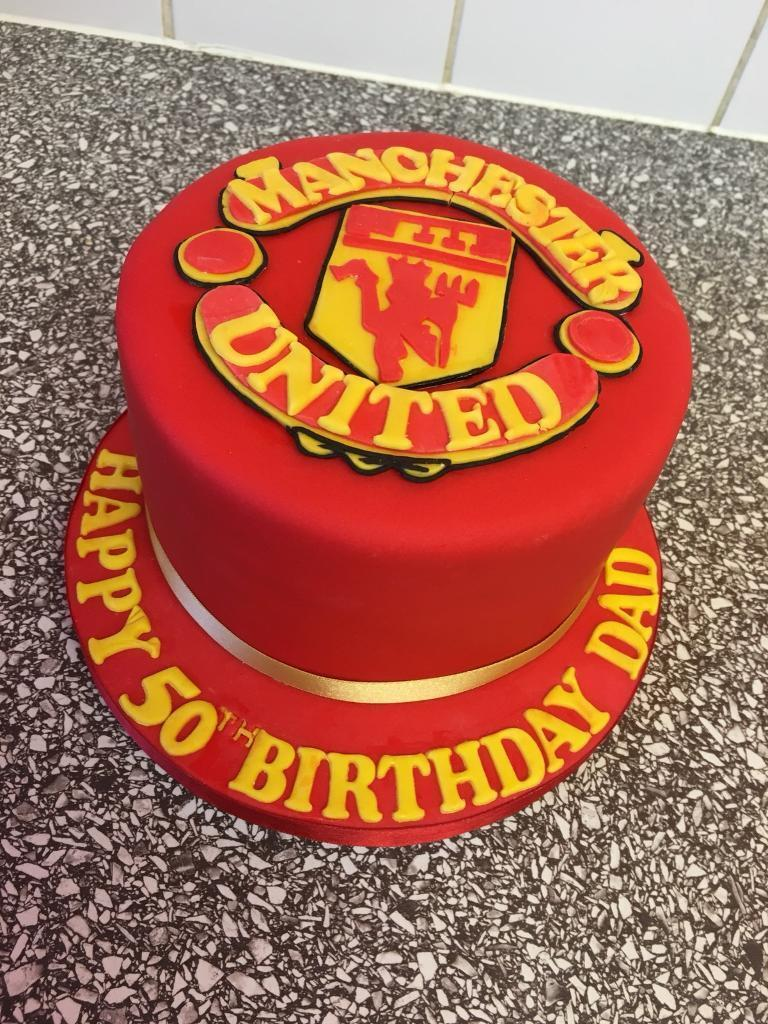 Manchester United Birthday Cakes In Manchester Gumtree