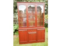FREE Dresser glass fronted display cabinet