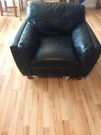 Black chair armchair