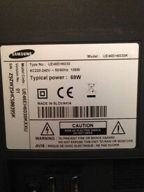 Samsung 46' LED 3D TV