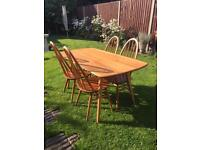 Vintage Ercol table (table only)