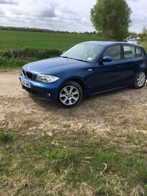BMW 1 series fully serviced every year just minor cosmetic damadge