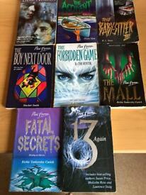 Point Horror Books x8 bundle