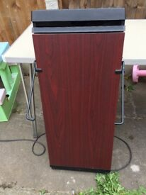 The Corby 4400 Trouser Press in Mahogany - Used No Hanger