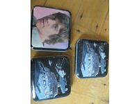 Vintage (1980) Star Wars The Empire Strikes Back Pillbox MICRO TINS