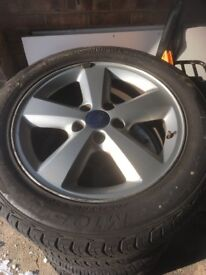 Ford wheels and tyres