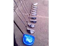 Mens Ram golf club set, very good condition