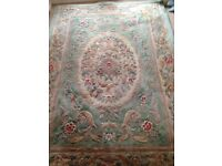Rug for sale measures 5'x13' . In need of a good clean but lovely thick wool pile