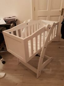 Baby crib and High Chair £90 Negotiable